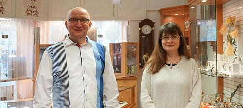 Michael Hohmann und Katrin Köther